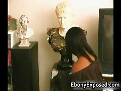 Busty Ebony have some Handjob of their part3