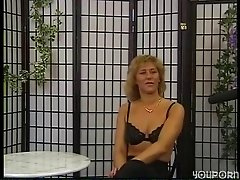 German amateur gets down to her underwear - DBM Video
