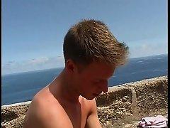 lutschen am strand