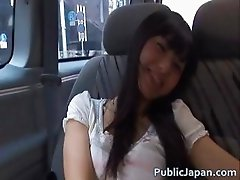 Aino Kishi Asian doll has sex in her car part6