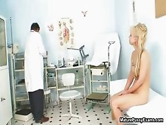 Blonde mature mom gets fulyl examed part2