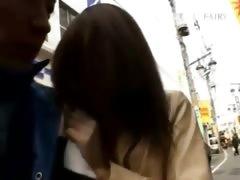 Asian teenie having pussy fingered