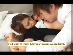 Nao Yoshizaki aexy japanese babe gets licked