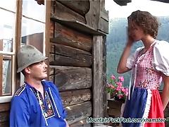 rough german mountain fuck