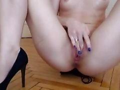 Sexy Blonde Sucking and Fucking Big Cock HD