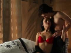 ultra hot brunet and her boyfriend