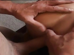 Fat blonde mature is fingering