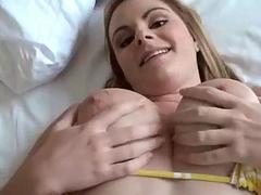 Big natural tits Keiyra Lina anal tryout