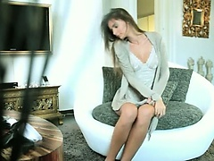 seductive glamour and her masturbation