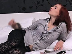 italian model Leila gaping gyno hole