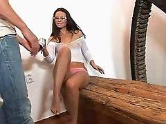 Busty bitch anal banged