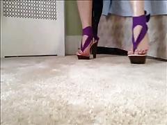 Bubblegum Model Heels