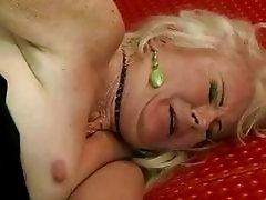 Ugly grandma getting fucked rough