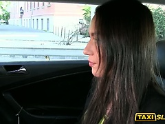 Hot lady Nataly fucked with the driver