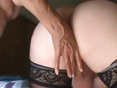 Tranny Enjoys A Night Of Anal Unforgettable Pleasure