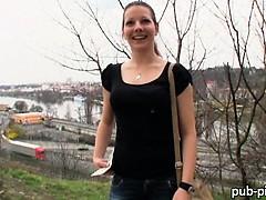 Amateur Iveta pounded in public place
