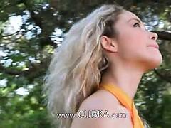 Beautiful blondie Madonna photographer