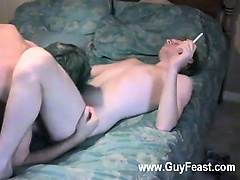 Hot gay sex Lucas is apparently jumpy but fortunately he's bottoming and