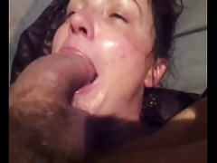 mature brunette can't deepthroat very BWC - kcxxx