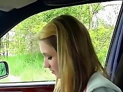 Teen Beatrix quickie fucked with driver