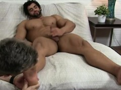 Gay sex younger babe Alpha-Male Atlas Worshiped