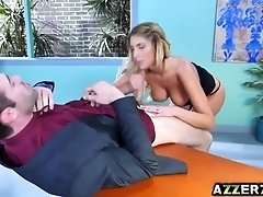 August Ames Briefs Her Boss And What a Brief That Was