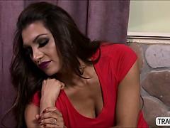 Big tits Tgirl Jessy reams her boyfriend