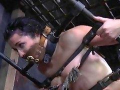 Big ass bound slave likes being spanked hard BDSM porn