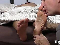 Kinky gay fetish on cam