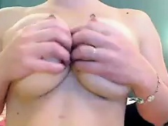 Indian with big boobs playing on webcam more videos