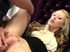 Clothed slut gets pissed