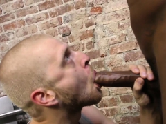 Stud takes black schlong