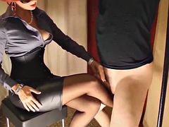 governess wants cum on legs