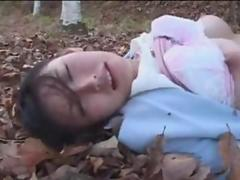 Takako Kitahara Fucked in the Forest