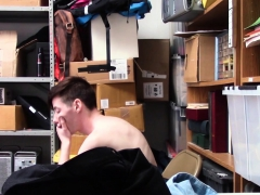 Teen thief face jizzed