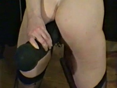 huge dildo in ass