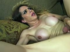 big boobs shemale sofia sanders fucks dude in his asshole