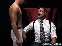 Mormon elders ass spanked