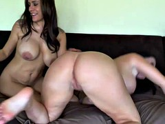 Sophie and raylene licks each other fluffies