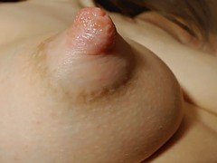 perfect tits with puffy nipples lactating 2