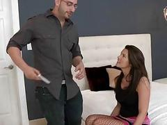 Milfs moist vagina endures stunning hammering