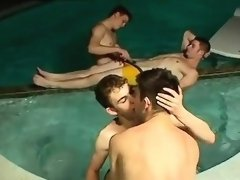 Gay sex videos that download very quick Undie 4-Way - Hot Tu