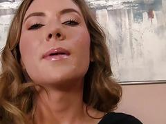 Innocent Girl Alison Faye Fucked in POV