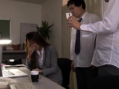Attractive Oriental teacher gets gangbanged by horny boys