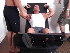 Marshall Tickles Hot Jock Braden Charron Out Of His Mind