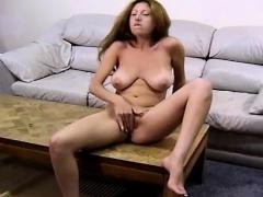 Boobie Brunette Masturbation Technique
