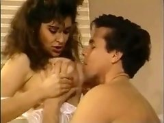 Leanna Foxxx and Peter North in Rainwoman 5