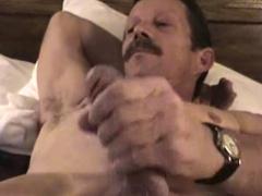 Mature Amateur James Beating Off