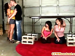 Female Dom Sienna West in fabulous four way