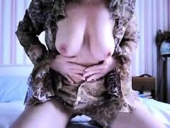 French mature webcam Miriam live on 720camscom